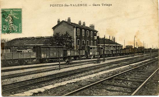La gare de triage