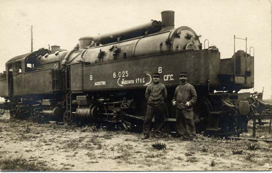 Une locomotive d'antan