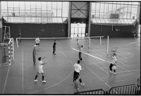 Un match de volley-ball