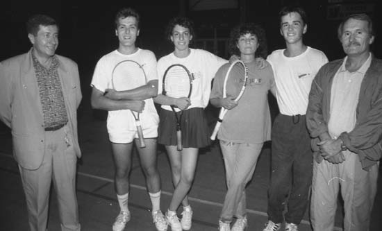 Les amateurs de tennis