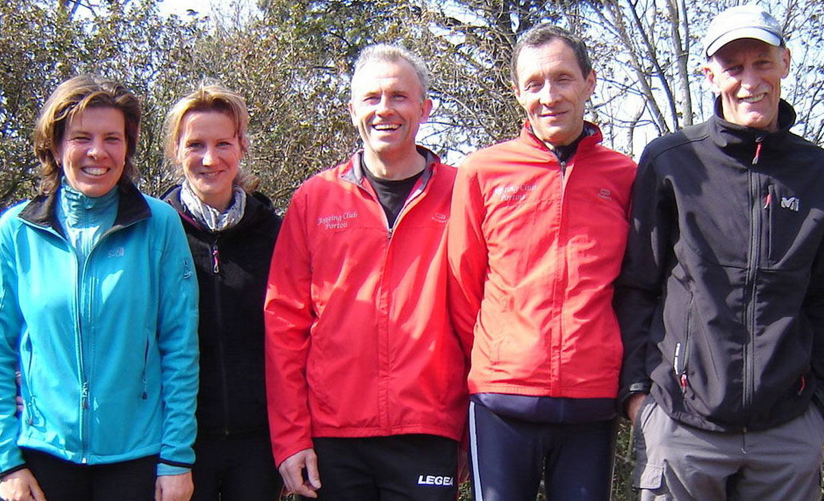 Des coureurs du jogging club