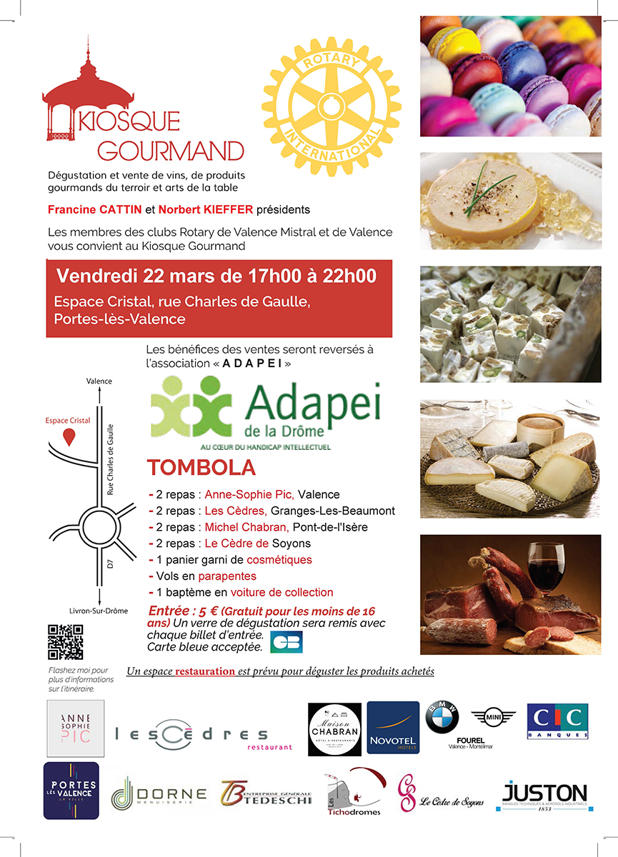Affiche Kiosque gourmand