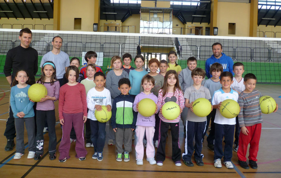 stagede  volley ball - Pâques 2012