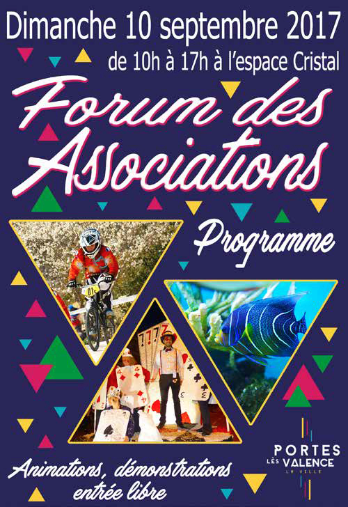 Affiche forum des associations 2017