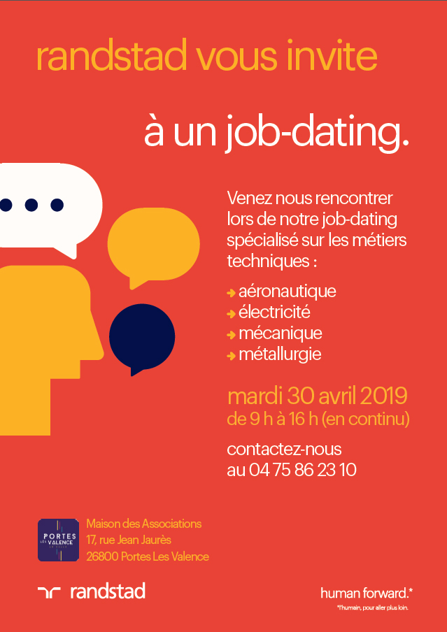 Affiche forum recrutement