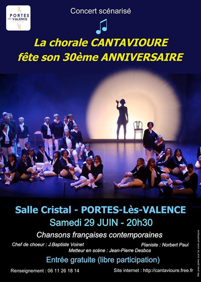 Affiche chorale cantavioure