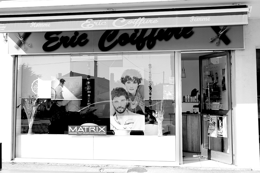 Article un jour un commerce eric coiffure - Restaurant asiatique portes les valence ...