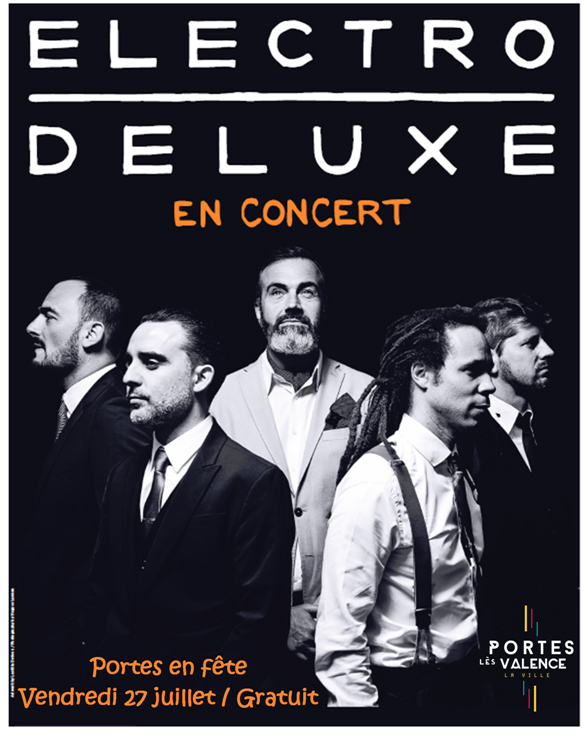 Affiche Electro Deluxe