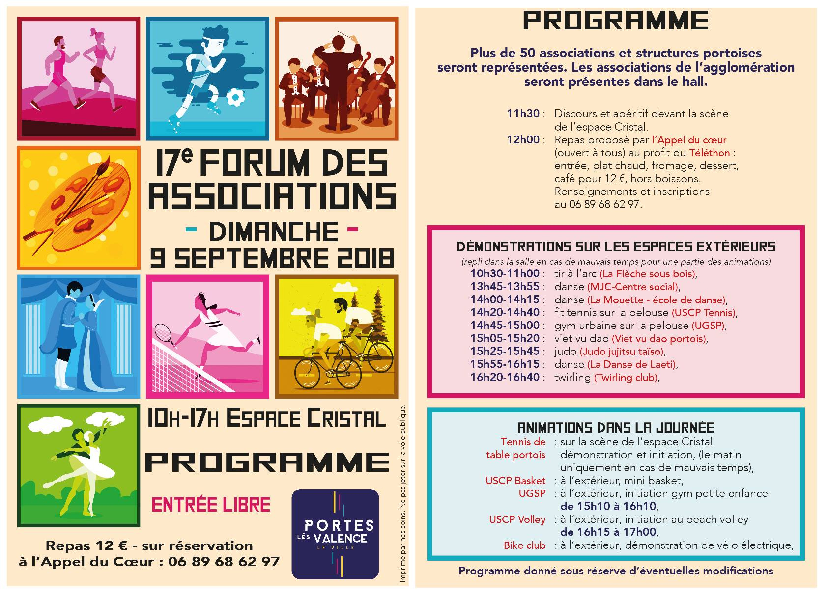 Flyer verso forum associations