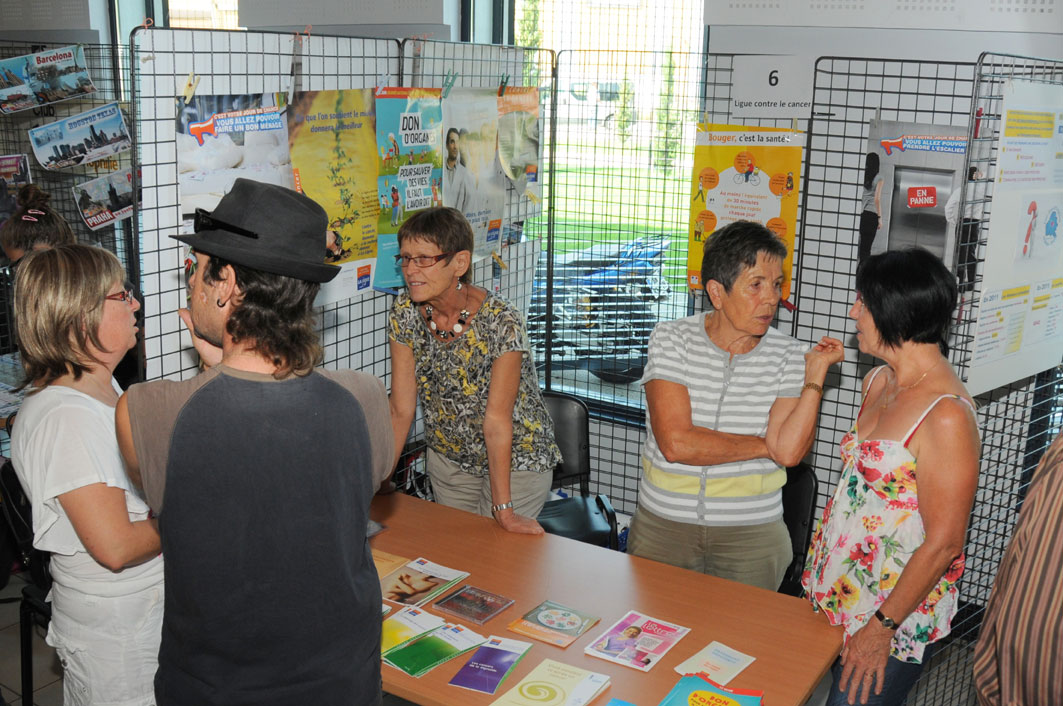 Stand : ligue contre le cancer