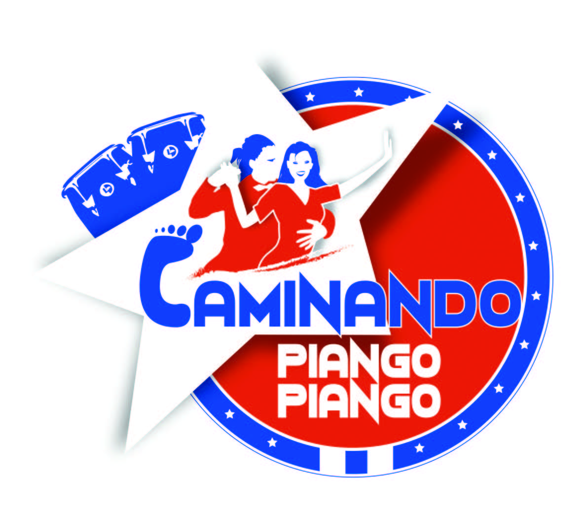 Logo de l'association Caminando piango-piango
