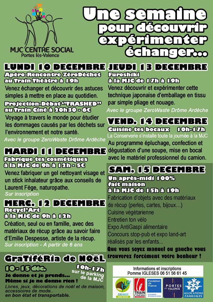 flyer Rébellion de noël
