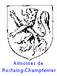 Armoiries de Rostaing-Champferrier