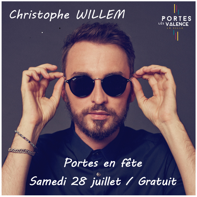 Affiche Christophe Willem